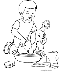 Free Printable Dog Coloring Pages Of Dogs Are Fun For Kids
