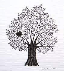 Tree Drawings Black And White Gallery 60 Images