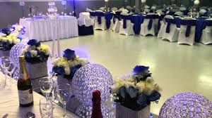 EHalisi Decor Royal Blue Wedding Decoration
