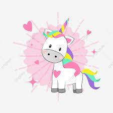 Lindo Macarons Fantasía Abstracta Unicornio Patrón Cuatro