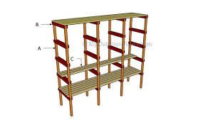 how to build storage shelves myoutdoorplans free woodworking