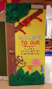 Pictures Of Halloween Door Decorating Contest Ideas by Best 25 Jungle Classroom Door Ideas On Pinterest Jungle Door