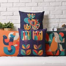 24 X 24 Patio Cushion Covers by 44cm Square Linen Cushion Cover Nordic Style Print Pattern
