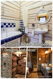 30 Fantastic Rustic Bathroom Designs And Decor Ideas – GooDSGN Bathroom Rustic Bathrooms New Design Inexpensive Everyone On Is Obssed With This Home Decor Trend Half Ideas Macyclingcom Country Western Hgtv Pictures 31 Best And For 2019 Your The Chic Cottage 20 For Room Bathroom Shelf From Hobby Lobby In Love My Projects Lodge Vanity Vessel Sink Small Vanities Cheap Contemporary Wall Hung