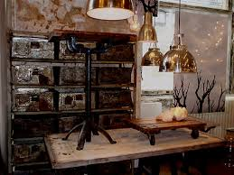 Vintage Industrial Furniture Home Decorating Ideas