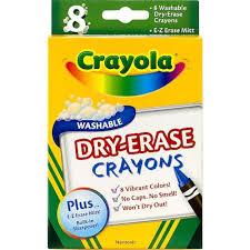 Crayola Bathtub Crayons 18 Vibrant Colors by Crayola Dry Erase Crayons Toys