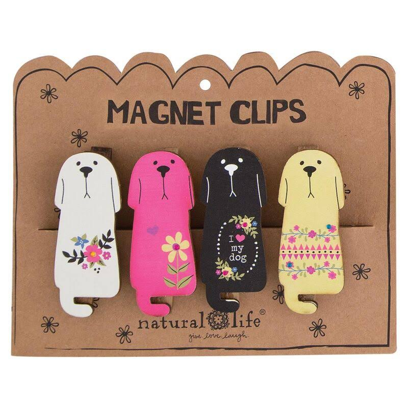 Natural Life Dogs Magnet Clip
