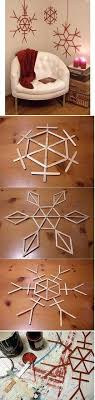 Decorative Snow Flake Easy Craft Ideas For Kids 09