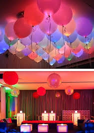 50Pcs Bag LED Glow Lamp Balloon Paper Lantern Lights Plusinlove