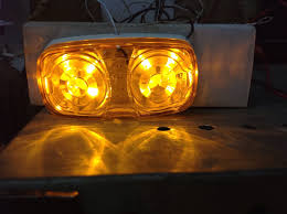 4 LED Optronics 2″x4″ Amber Bullseye Light For Trailers Marker ... Mengs 1pair 05w Waterproof Led Side Marker Light For Most Buses Universal Surface Mount For Truck Amberred 2018 4x Led Fender Bed Lights Smoked Lens Amber Redfor 130 Boreman V 112 13032018 American 2pcs 6 Clearance Indicator Lamp Trailer 4pack X 2 Peaktow Round Submersible United Pacific Industries Commercial Truck Division 1ea Of An Arrow B52 55101 Amber Marker Lights Parts World 4 X 8led Side Marker Lights Clearance Lamp Red Amber Trailer Best Quality 5x Teardrop Style Cab Roof 2pcs Yellowred Car