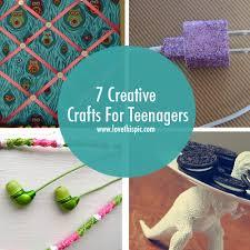 7 Creative Crafts For Teenagers Diy Teens Teen Craft Ideas Crafty