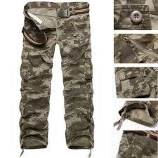 new men u0027s cotton combat military camouflage cargo army camo pants