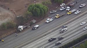 100 Truck Accident Today Semitruck Multiple Cars Involved In Crash On 10 Freeway In West