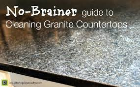 Idea of How To Clean Black Granite Countertops How To Clean