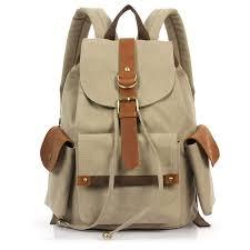 sacs à dos voyage collège en cuir vintage pour femmes pas cher