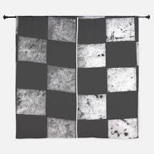 checkered flag window curtains drapes checkered flag curtains