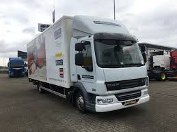 DAF LF45. 220 Day Cab Closed Box Trucks For Sale From The ...