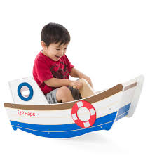Hape Kitchen Set India by Hape Wooden Rocking Boat Go On And Rock The Boat Baby In This