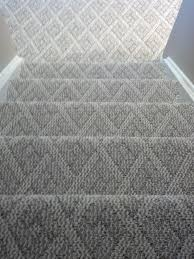 Tiled Carpet by Berber Carpet Cincinnati Ohio Installed On Steps And Basement