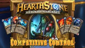 hearthstone deck spotlight shaman competitive control youtube