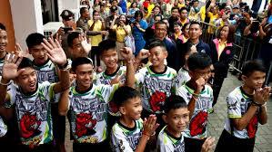 Tailandia Cueva Los Niños Rescatados En Tailandia Vuelven A Casa