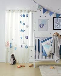 rideau garcon chambre rideaux blue safari chambre bébé babyspace vertbaudet fr