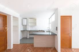 100 Small One Bedroom Apartments Kitchen Of A Small One Bedroom Empty Apartment