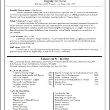 Experienced Rn Resume Examples For Nurse