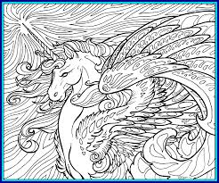 Unicorn Coloring Page Pages Printable Free Amazing Hard For Adults Depetta Ribsvigyapan