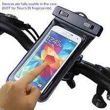 URPOWER Waterproof Resistant Smartphone Bike Mount Size