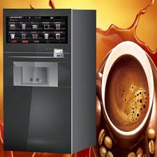 Free Standing Double Espresso Automatic Coffee Vending Machine On Sale