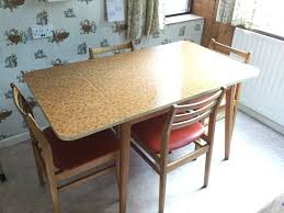 Vintage Dining Room Sets Round Table Set Retro Formica