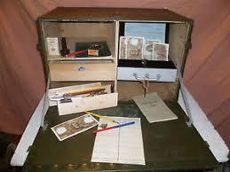 caisse de bureau bureau de cagne caisse comptabilité militaire mobilier