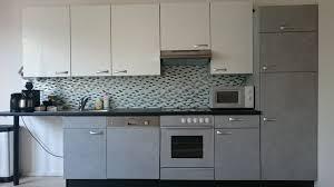 küche aufpeppen küchenfronten arbeitsplatte rückwand
