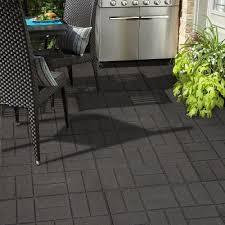 Rubber Paver Tiles Home Depot by Amazon Com 24