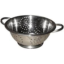 passoire de cuisine baumalu 342307 passoire inox 24 cm amazon fr cuisine maison