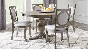Emory Heights Gray 5 Pc Round Dining Room