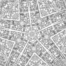 Fantastic Cities Is A Coloring Book For Grown Ups