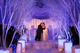 Image Of Romantic Winter Wonderland Wedding