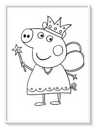 Peppa Pig Para Colorear Pdf 🥇 Biblioteca De Imágenes Online