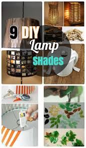 9 Incredibly Striking DIY Lamp Shade Ideas For Your House How To Make Easy Fabric Paper Burlap And Rustic Shades Table Hanging Type