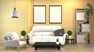 100 Modern Zen Living Room Modern Zen Interior With Sofa And Green Plants Lamp Decoration