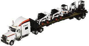 Amazon.com: Bobcat Peterbilt 379 Tractor With Flatbed Trailer And ... 46501 132 Peterbilt Grain Truck With Auger Bin Action Toys 116 Big Farm Model 367 Log Pup Trailer And Massey Ferguson 8270 W Down On The Diecast Toy Tow Trucks Wreckers Newray Scale Red Bull Ktm Race Team Die Cast Long Haul Trucker Newray Ca Inc Matchbox Cement Mixer Truck Pete 180 Scale Amazoncom Ertl 579 Semi John Deere 4 Wooden Peterbilt Devn Hraky Pinterest New Ray With 116th Rollback 4020 Tractor