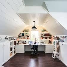 Renovated Attic Playroom OfficeCraft Room By Unskinny Boppy7
