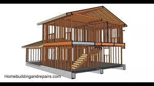 100 Picture Of Two Story House Framing Part One Gable Roof And Garage