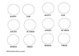 Chic Design Feelings Coloring Pages Emotions Worksheet Free ESL Printable Worksheets Made By Teachers