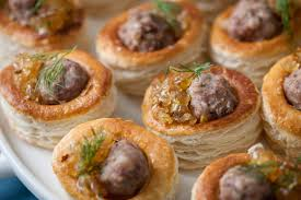 puff pastry canape ideas balsamic tomato canapé recipe great chefs