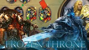 Warrior Hearthstone Deck Grim Patron by Hearthstone Warrior Grim Patron Vs The Lich King The Frozen