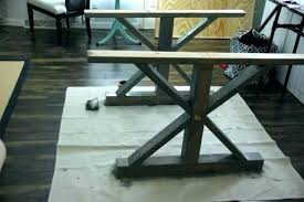 Diy Wooden Coffee Table Legs Wood Stain Farmhouse Dining