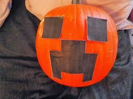 Minecraft Sword Pumpkin Carving Patterns by Cassie U0027s Creative Crafts Minecraft Creeper Pumpkin Tutorial